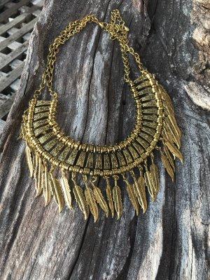 New Italia Collier Necklace gold-colored