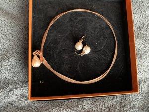 Rita Pfeffinger Parure bijoux or rose