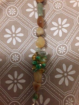 Collier natur und kunst Steine