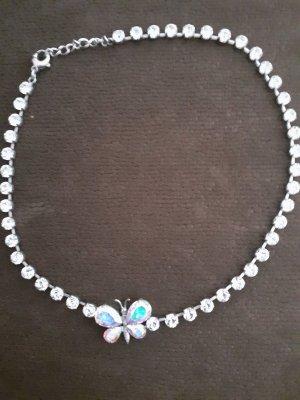 Skagen Collier argento-azzurro