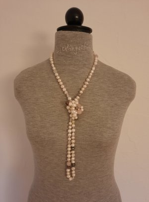 Be yourself Pearl Necklace natural white-pink