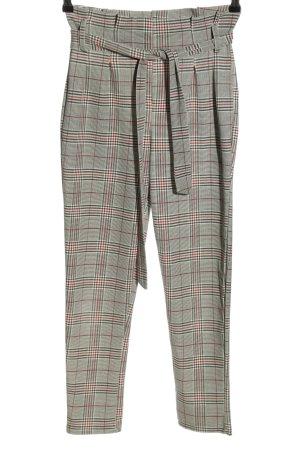 Colloseum Pantalone a 7/8 motivo a quadri stile casual