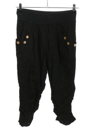 Colloseum Pantalone a 7/8 nero stile casual