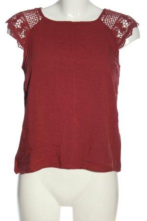 Colloseum ärmellose Bluse rot Casual-Look