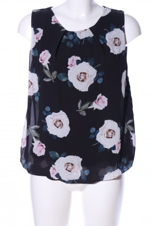 Colloseum ärmellose Bluse Blumenmuster Casual-Look