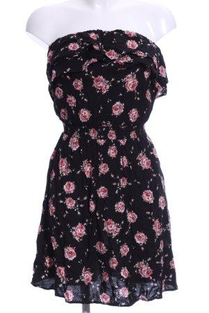 Colloseum Bandeau Dress flower pattern casual look