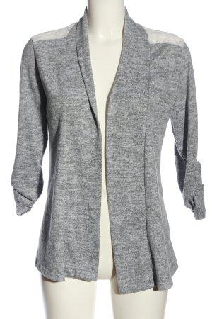 Colloseum Cardigan grigio chiaro-bianco sporco puntinato stile casual
