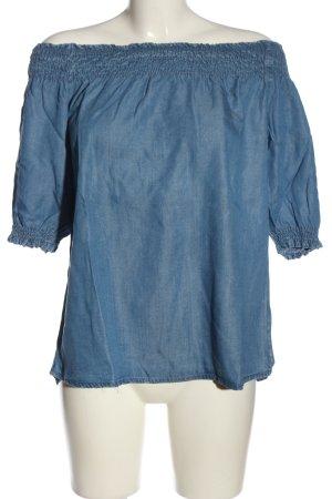 Colloseum Carmen-Bluse blau Casual-Look