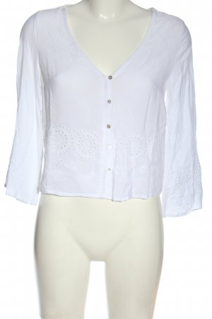 Colloseum Camicia blusa bianco stile casual