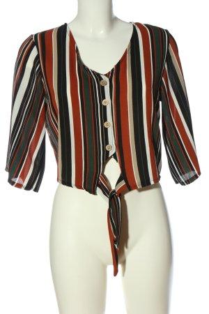 Colloseum Camicia blusa motivo a righe elegante
