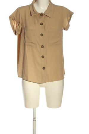 Colloseum Camicia blusa crema stile casual