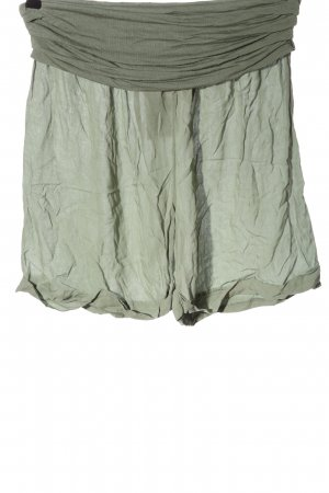 Colloseum High-Waist-Shorts khaki elegant