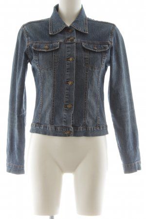 Colloseum Jeansjacke blau Casual-Look