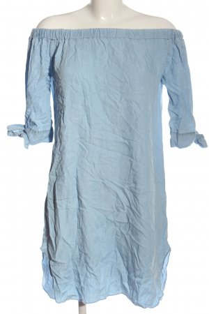 Colloseum Kurzarmkleid blau Casual-Look