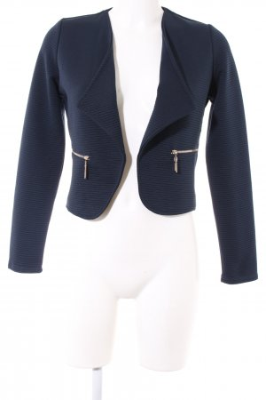 Colloseum Kurzjacke blau Business-Look