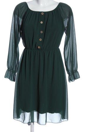 Colloseum Langarmkleid grün Elegant