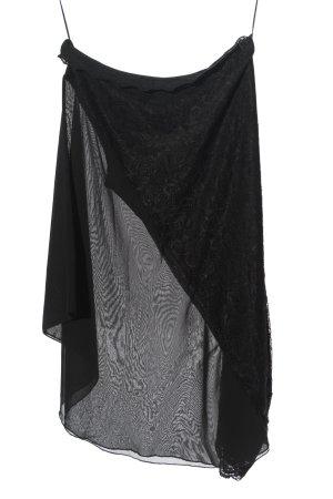 Colloseum Gonna midi nero-grigio chiaro elegante