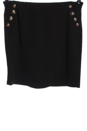 Colloseum Minigonna nero puntinato stile casual