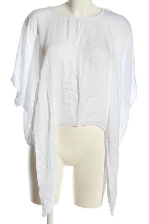 Colloseum Schlupf-Bluse weiß Casual-Look