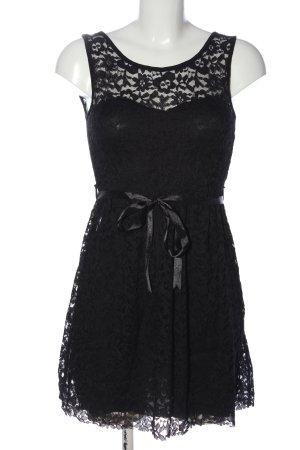 Colloseum Spitzenkleid schwarz Elegant
