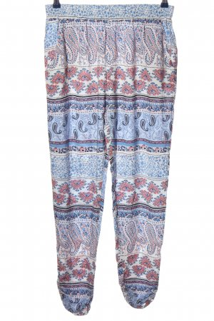 Colloseum Stoffhose abstraktes Muster Casual-Look