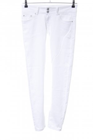 Colloseum Pantalon strech blanc style décontracté
