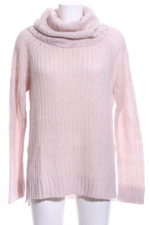 Colloseum Strickpullover pink Zopfmuster Casual-Look