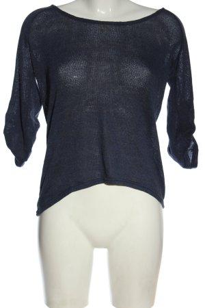 Colloseum Camicia maglia blu stile casual