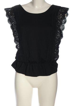 Colloseum Camicia maglia nero stile casual