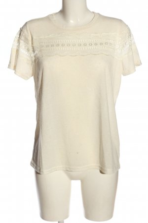 Colloseum Camicia maglia crema stile casual