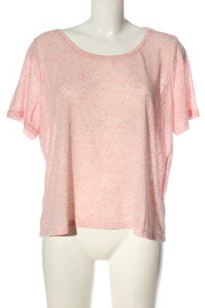 Colloseum Camicia maglia rosa puntinato stile casual
