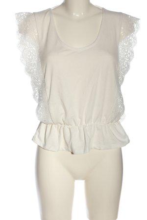 Colloseum Camicia maglia bianco stile casual