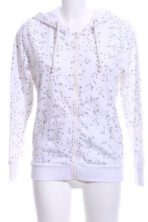 Colloseum Chaqueta de tela de sudadera blanco-gris claro look casual