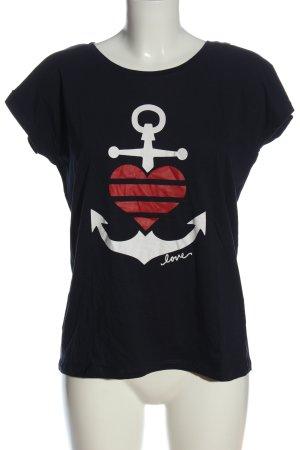 Colloseum T-Shirt Motivdruck Casual-Look