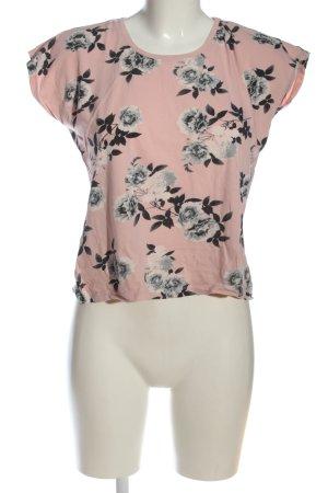 Colloseum T-Shirt Allover-Druck Casual-Look