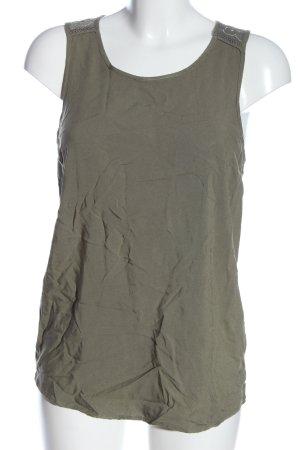 Colloseum Strappy Top khaki casual look