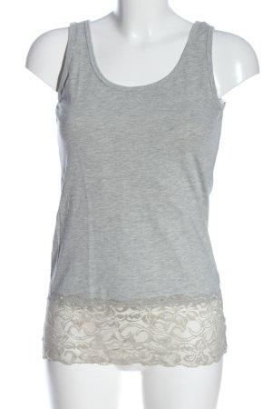 Colloseum Strappy Top light grey flecked casual look