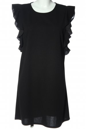 Colloseum Volantkleid schwarz Elegant