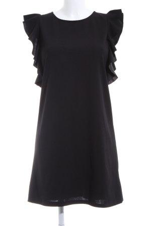 Colloseum Vestido estilo flounce negro look casual