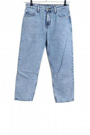 Collusion Straight-Leg Jeans blau Casual-Look