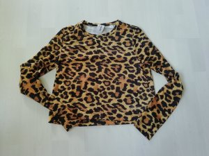 Collusion Shirt Cropped Cropshirt Crop Leo Animal