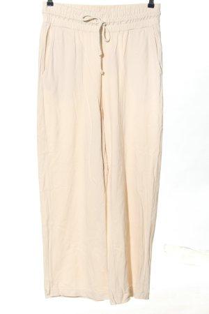 Collusion Pantalon de jogging blanc cassé imprimé allover style décontracté