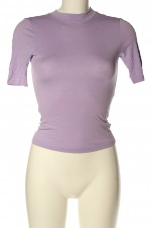 Collusion T-Shirt lila Casual-Look