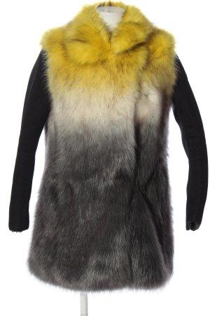 Colmar Manteau de fourrure multicolore style décontracté