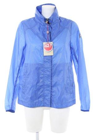 Colmar Regenjacke blau Punktemuster Casual-Look