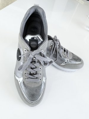 Colmar Lace-Up Sneaker silver-colored-light grey leather