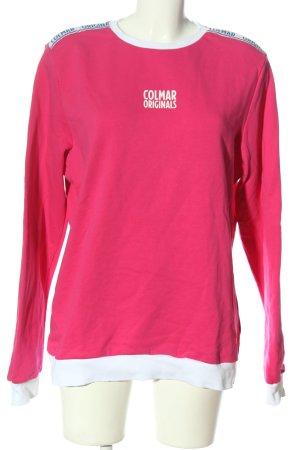 Colmar Sweat Shirt themed print casual look