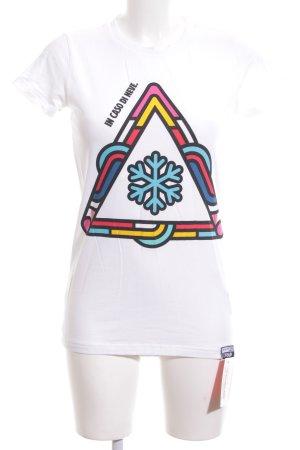 Colmar T-Shirt Schriftzug gedruckt Casual-Look