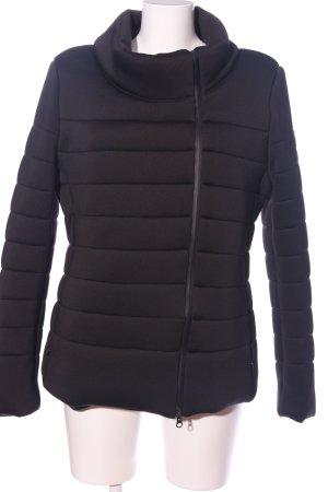 Colmar Winter Jacket black quilting pattern casual look