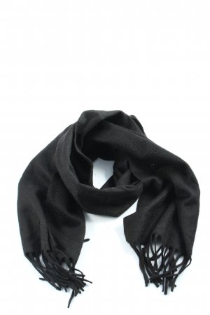 Colombo Sciarpa in cashmere nero stile casual